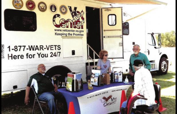 There for Veterans at 4th Celebration in Ranger