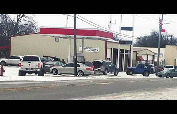 County Residents Line up for Fuel