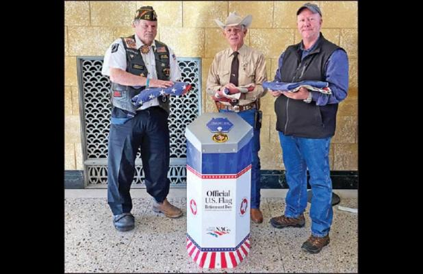 Eastland County Provides New Option for Proper Disposal of Worn U. S. Flags