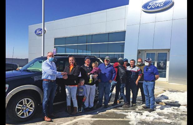Stanley Auto Group helps Local Family with Donation