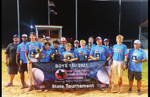 Gorman captures 15U state baseball title