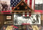 Veterans Tribute Wall Displayed in Cisco College Library