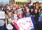 Ranger Elementary Students Recognize Local Army Veterans on Veteran's Day