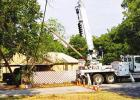 Problems with Electricity Pole causes outages