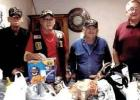 Ranger Veterans Support Group Donates Canned Goods to Crosspoint Community Church in Ranger
