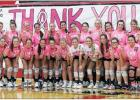 LADY MAVS 'ROCK' THE PINK WITH LADY 'HORNS