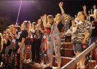 The crowd was fired up at Friday night's Home Coming game.