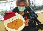 Christmas Craft Displayed by Nursing Home Residents